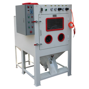 Automatic Tumble Basket Blaster for Batch Production