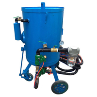 1000 Litre Portable Sandblasting Equipment for Sale, Pressure Pot Sandblasting Equipment