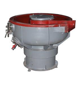 Vibratory Deburring Bowl with Media Separation