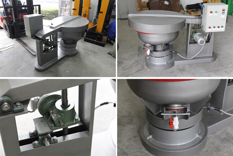 vibratory finishing polishing machine
