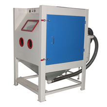 Manual Sandblaster Cabinet with Cyclone