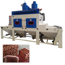 Sand Blasting Machine for Heat Exchanger, High Production Automatic Blasting Machine