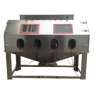 Large Wet Sandblasting Machine, Stainless Steel Sandblasting Machine
