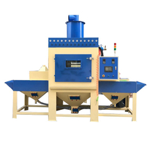 Horizontal Automatic Sandblasting Machine