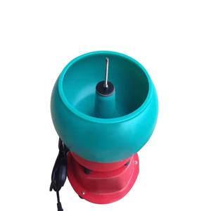 Small Vibratory Tumbler Bowl, Metal Parts Deburring Polishing Tumbler