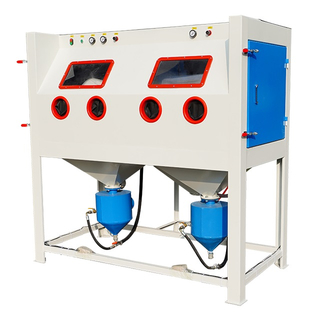 Double Station Pressure Sand Blast Cabinet