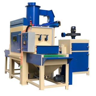 Automatic Sandblaster Machine, Pass-through Sandblasting Machine